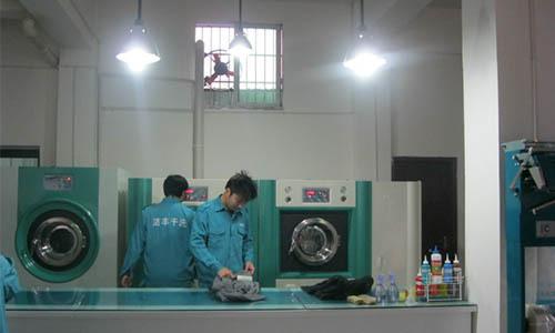 开家大型干洗店设备需要花费多少