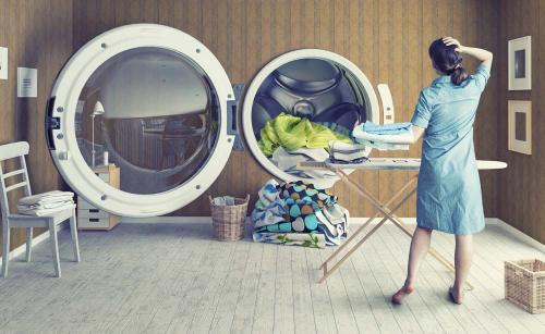 开干洗店的收益空间很大吗
